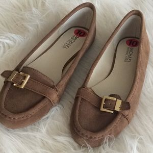 NEW 💞MICHAEL Michael KORS 💞suede leather flats